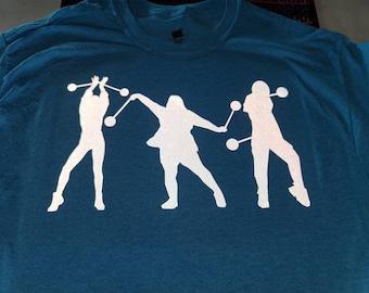 Three poi spinners t-shirt