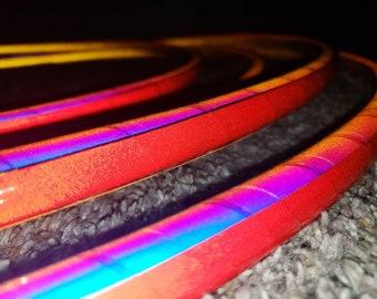 Fairy floss reflective hoop, polypro, hdpe, pe, hoop, reflective, single