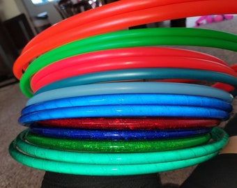 Ready to ship double hoops, one pair of hoops, varying size