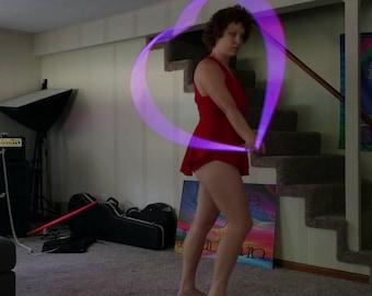 Single Heart hoop