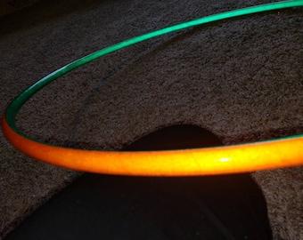 Pumpkin slime reflective,  orange and green