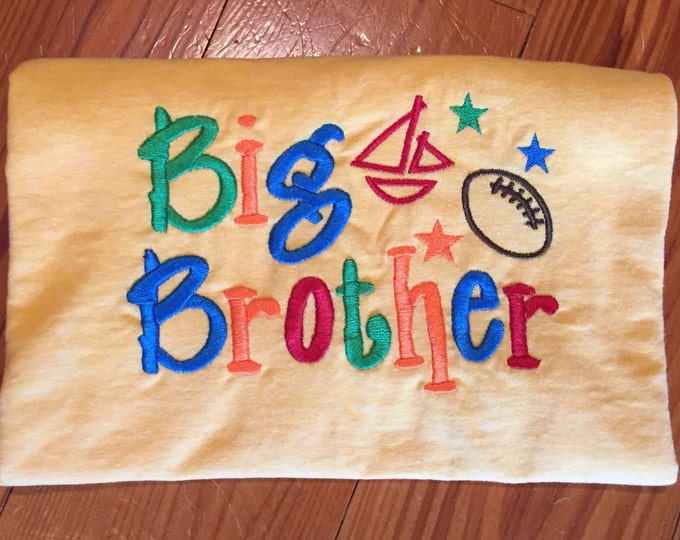 Big Brother Embroidery Tshirts
