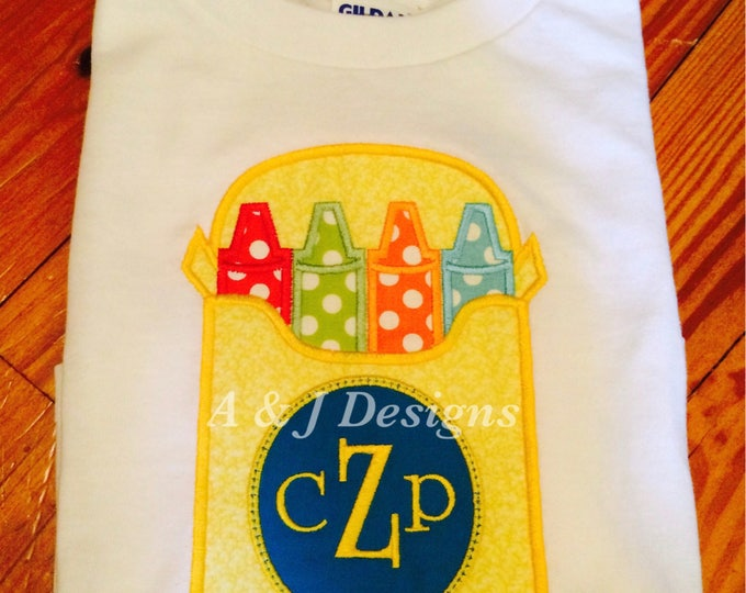 PreSchool Embroidery Shirts Three Styles