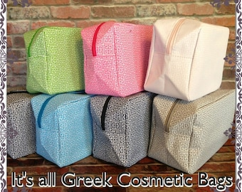 Greek Cosmetic Bags
