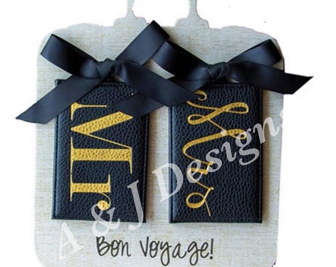 Mr & Mrs Luggage Tags