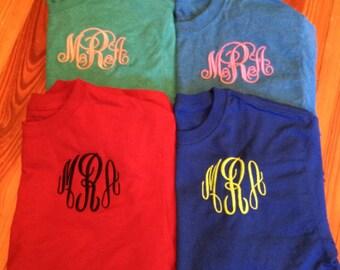 Short Sleeve Monogrammed Shirts