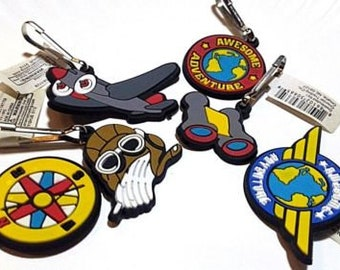 Awesome Adventure Zipper Pulls -