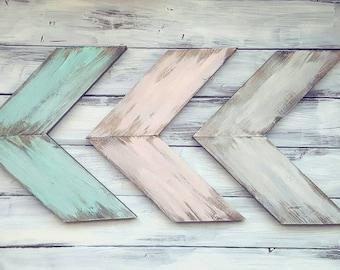 Rustic Arrows | Wooden Arrows | Farmhouse Decor | Nursery Decor | Farmhouse Arrows |  Rustic Arrows | Set of Arrows | Distressed | Arrow