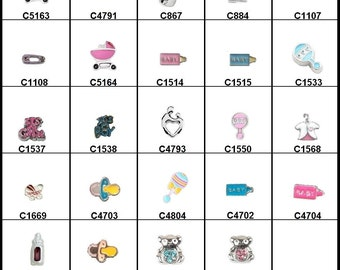 Floating Charms for your Floaiting Memory Lockets