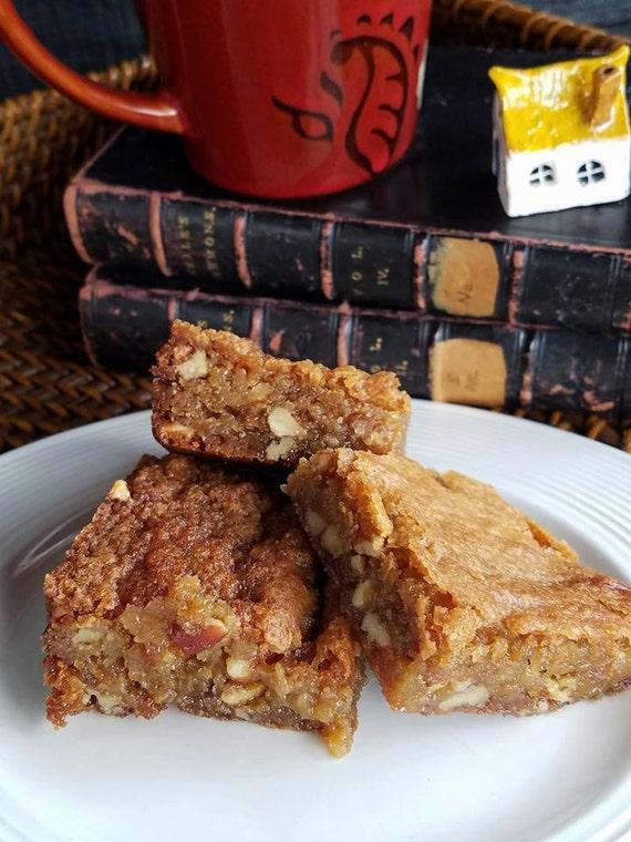 Butterscotch Brownies Blondies Pecan