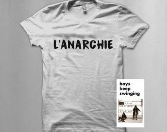 """Patti Smith/Joey Ramone """"The Anarchy"""" T shirt"""