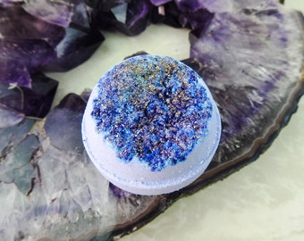 Tanzanite Geode Mega Bath Bomb Gift Set