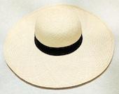 Artisanal Panama Hat CDS - Piquasa Normal Natural 12