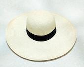 Artisanal Panama Hat CDS - Piquasa Normal Natural 10