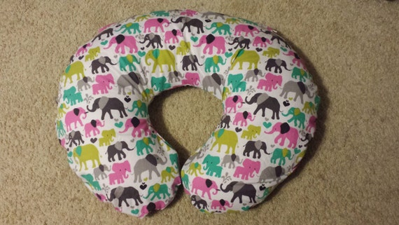 Elephant Lovers Boppy Pillow Cover Nursing Pillow Cover Etsy Unique Minnie Mouse Boppy Pillow Cover