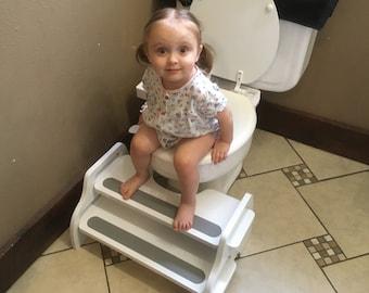 Potty-Training POOP STOOP Kids Foot Stool/Toilet Squat Stool/Toilet-Training Footstool