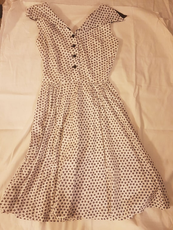 TRUE VINTAGE 1950 Day Dress