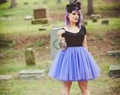 Purple Tulle Skirt - Adult Bachelorette Tutu- adult tutu, adult tulle skirt