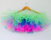 Custom Order Adult Tutu- Rave tutu- Neon pink, neon gren neon blue,tutu tuesday- Burning Man- festival tutu- any size