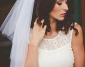 Bachelorette Veil, Bachelorette Party, hair comb, bridal shower veil