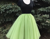 Olive Tulle Skirt - Adult Bachelorette Tutu- mint adult tutu, green adult tulle skirt