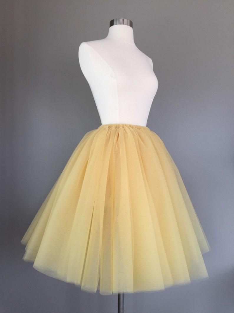 Adult Bachelorette Tutu adult tutu adult tulle skirt Gold Tulle Skirt