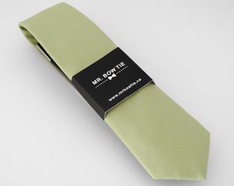Sage Green Neck Tie (172B) Neckties, Mens Neck Tie, Necktie, Green Neck Tie,  Wedding Neck Ties