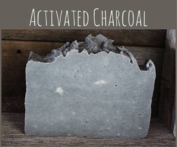 Soap / Activated Charcoal / Detox Skin Soap / Tea Tree / Avocado oil / Pure and Natural / Sensitive Skin / Complexion bar / castor oil