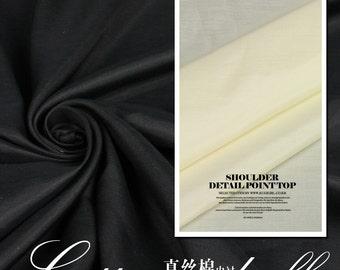140cm wide silk cotton lining fabric