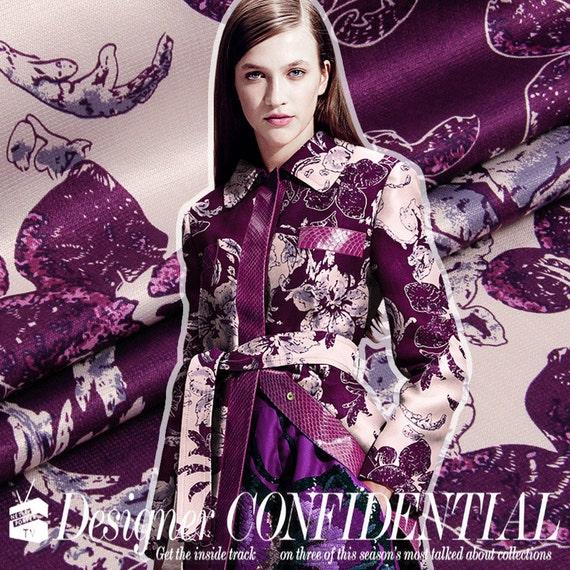 e2e63a90c95 145cm breite schöne lila Seide Leinen Baumwolle Kleid Kleidung