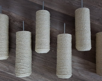 Sisal Post Step, Stairs for Cats on Wall, Catwalk
