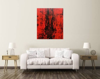 Original abstract artwork on canvas ready to hang 140x100cm #574