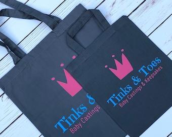 Personalised tote bag branded tote bag, custom merchandise, logo, tote bag, branded merchandise