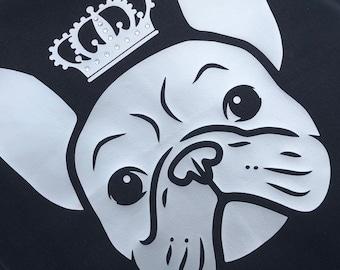 French Bulldog cushion, Bulldog cushion, Home Decor, French Bulldog, Birthday gift, Cushion
