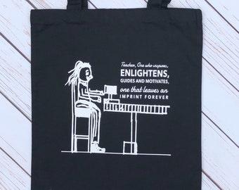 Personalised Teacher Bag, Gifts For Teachers, Teacher Gift, Custom Tote Bag, Tote Bag, Teaching Assistant Gift