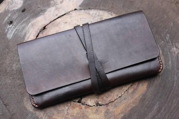 iPhone 6 PLUS Etui pochette portefeuille - monnaie - Womens sacs sacs à main portefeuilles - portefeuille en cuir personnalisé - cuir passeport couverture - VD179