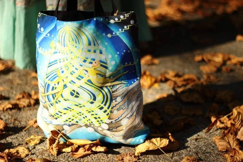Weavers of the Universe Totebag