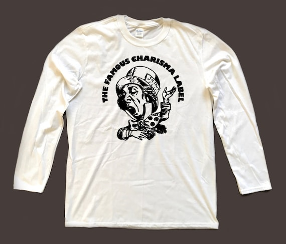 Alice in Wonderland MAD HATTER Charisma label long-sleeved T Shirt