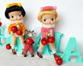 FairyTown nAtureQ【Holala 】doll [oh!honey]Manbo&Chacha stock