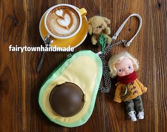 Fairy Town avocado doll carrier shoulder bag for dolls(17-22cm) preorder