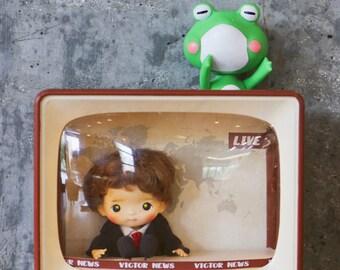 FairyTown Handmade Mimiko & Victor The Retro TV Set  [Preorder]