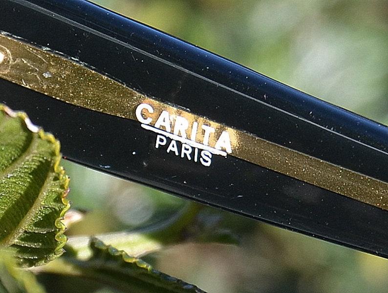 1980s CARITA Paris Eyeglasses - Sunglasses Made in France - Women Eyewear