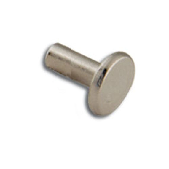 12 9 Brass Rivets And Burrs 1//2 #9 50 Per Pack 11280-20 By Tandy Leather