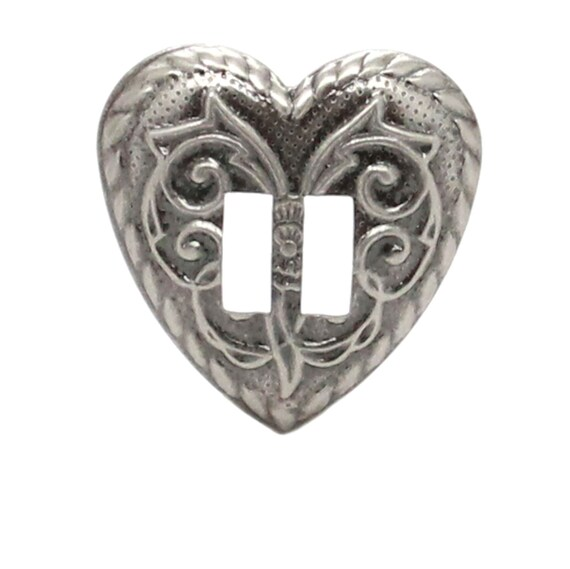 Feather Charm Antique Nickel 1.25 inch With Jump Ring 28131-21
