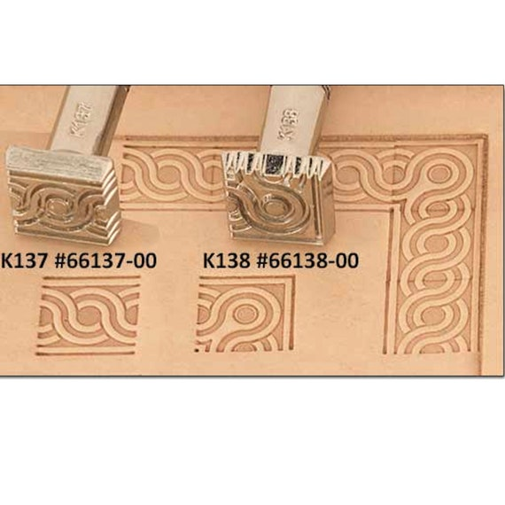 K137 Craftool Leather Stamp 66137 00 Etsy