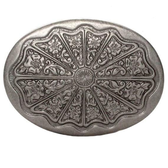 "Sunburst Buckle Antique Nickel 1/"" 2677-21"