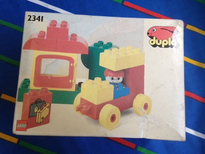 Vintage 1991 Lego Duplo Peters Holiday 2341 Mint In Etsy