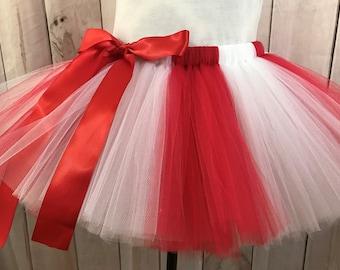 94c92fa6422 Red and white tutu