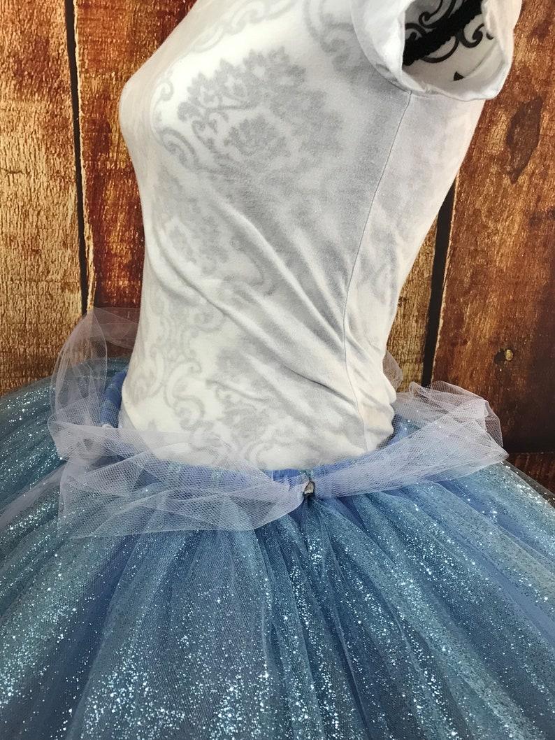 running tutu Princess Sparkling blue tutu fairy costume Fairy tutu Cindy tutu tutu costume tutus for women women/'s costume