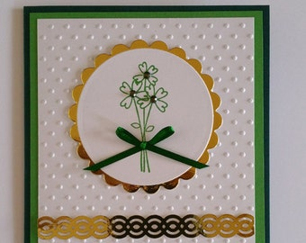 St. Patrick's Day Card Kit of 5